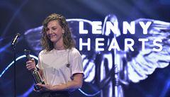 Hudební ceny Anděl ovládla zpěvačka Lenny. Proměnila všechny čtyři nominace