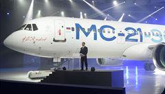 Nový ruský dopravní letoun MS-21 má za sebou první let