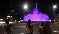 Bělehrad má novou fontánu, má se stát turistickou atrakcí