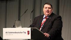 Sudetští Němci chtějí stavět mosty mezi Čechy a Němci, říká šéf sdružení Posselt