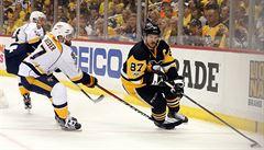 NHL: Pittsburgh deklasoval Nashville 6:0 a je výhru od Stanley Cupu