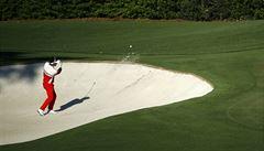 Při golfovém US Open spadla na pažit vzducholoď. Pilot utrpěl popáleniny