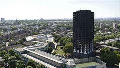 Policie zveřejnila detaily z vyšetřování požáru Grenfell Tower. Zemřelo v ní na 80 lidí