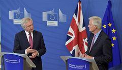 Vyjednávání o brexitu mezi Londýnem a EU začalo. Zatím se projednává rozvrh diskuzí