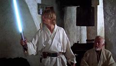 Svatý grál sběratelů. Originální světelný meč Luka Skywalkera jde do dražby