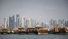 Katar si v Ženevě stěžuje na arabské rivaly. Může pro ně žádat sankce
