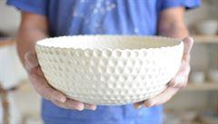 Keramika vás naučí trpělivosti, říká designérka