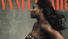 Hit internetu. Serena Williamsová pózovala nahá s těhotenským břichem