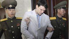 KLDR odmítá obvinění z mučení amerického studenta, který zemřel pár dní po propuštění