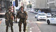 Bruselská policie zabránila útoku na centrálním nádraží. Muže s výbušninami zastřelila
