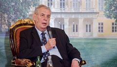 Zeman: se Slovenskem jsme se stali členy evropské rodiny, máme skvělé vztahy
