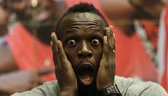 Snad mi nenaroste pivní břicho, žertoval Bolt před posledním závodem na Tretře