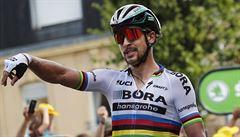 Překvapení. Hvězdný Sagan oznámil po středeční etapě Tour rozchod s manželkou