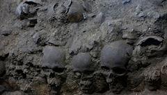 V Mexiku našli věž ze stovek lebek. Mění teorii o pohřebních rituálech Aztéků