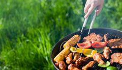 Grilování bez tuku. Zkuste kuřecí stehna či zeleninový salát