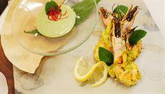 VIDEORECEPT: Zkuste indické krevety, které se dají připravit i na grilu