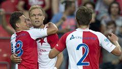 Slavia ukončila trápení, doma deklasovala Boleslav. Plzeň vyhrála v lize i popáté