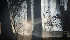 Pobřeží Jadranu v Chorvatsku a Černé Hoře sužují požáry