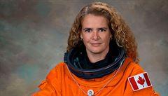 Z astronautky generální guvernérkou. První Kanaďanka na ISS má být zástupkyní Alžběty II.