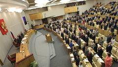 Rusko zakázalo médiím z USA, které jsou na seznamu 'agentů', vstup do parlamentu