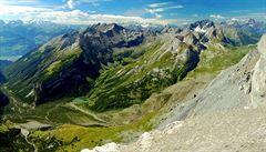 Majestátní švýcarská hora Matterhorn se rozpadá
