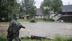 Na severu Čech hrozí záplavy. Povodňové ohrožení platí pro řeku Smědá
