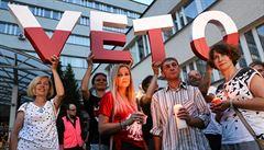 'V programu to neměli.' Polský prezident chystá veto kontroverzních zákonů o soudech