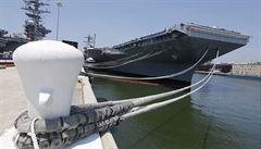 USA chystají v Tichomoří manévry s letadlovými loděmi. Chtějí demonstrovat sílu