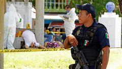 Nejnásilnější rok a strach Mexika o turismus. Drogové kartely se vraždí v resortech