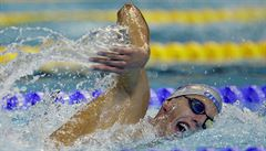 Talent Micka doplaval na osmistovce pátý a znovu vylepšil český rekord