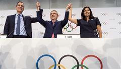 Olympiáda pro Paříž, Los Angeles, nebo pro oba. MOV chce 'kandidátský klid'