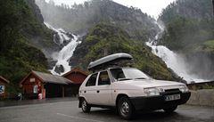 NOMÁDI: Cesta Favoritem do Norska? Jen s kartonem a Chemoprénem na opravy
