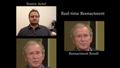Budoucnost falešných zpráv: software, který dokáže falšovat projevy politiků