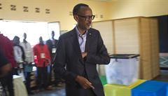 'Volby, nebo korunovace?' Rwandský prezident získal 98 procent hlasů, zůstane v čele země