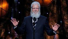 Americký moderátor Letterman se přes Netflix vrací na obrazovku