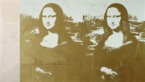 Andy Warhol, Two white Mona Lisas and Two gold Mona Lisas, 1980, akryl a...