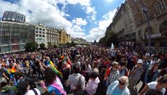 Jak to vypadalo na průvodu Prague Pride? Podívejte se na snímky 360° kamery