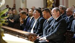 Baťův pohřeb spojil národy. Uctít památku přišel Pelta, Křetinský, Jansta či Paclík