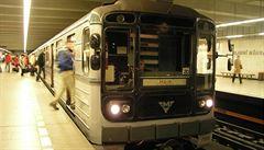 Sovětská kapitola metra se uzavírá, poslední stará souprava zítra dojezdí