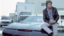 David Hasselhoff jako Michael Knight.
