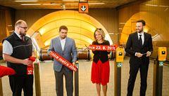 'Příští zastávka Jinonice'. Krnáčová otevřela stanici po 8 měsících, podívejte se