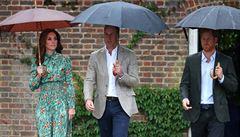 Princové William a Harry si připomněli 20 let od úmrtí své matky Diany