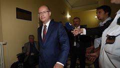 Stát prodal podíl v OKD za vyšší cenu, než uváděl posudek, řekl Sobotka u soudu