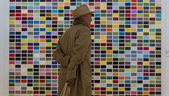 Národní galerie vystavovala nejdražšího žijícího malíře současnosti Richtera