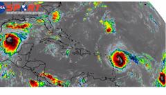 Po ničivé Irmě v Atlantiku vznikly další dva hurikány, José a Katia. Mexiko je v pozoru