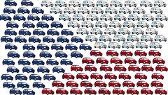 Útok na korupci: Deset ministerstev koupí společně 1431 aut