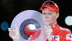 Brit Froome neprošel během Vuelty dopingovou zkouškou. Může přijít o triumf