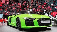 Auta, která si většina lidí může jen prohlížet. Podívejte se na hvězdy z Frankfurtu