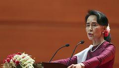 Viníci budou potrestáni. Návrat Rohingů do Barmy řešíme, prohlásila Su Ťij