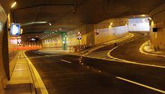 Tunelem Blanka projelo za první půlrok denně v průměru 62 tisíc aut